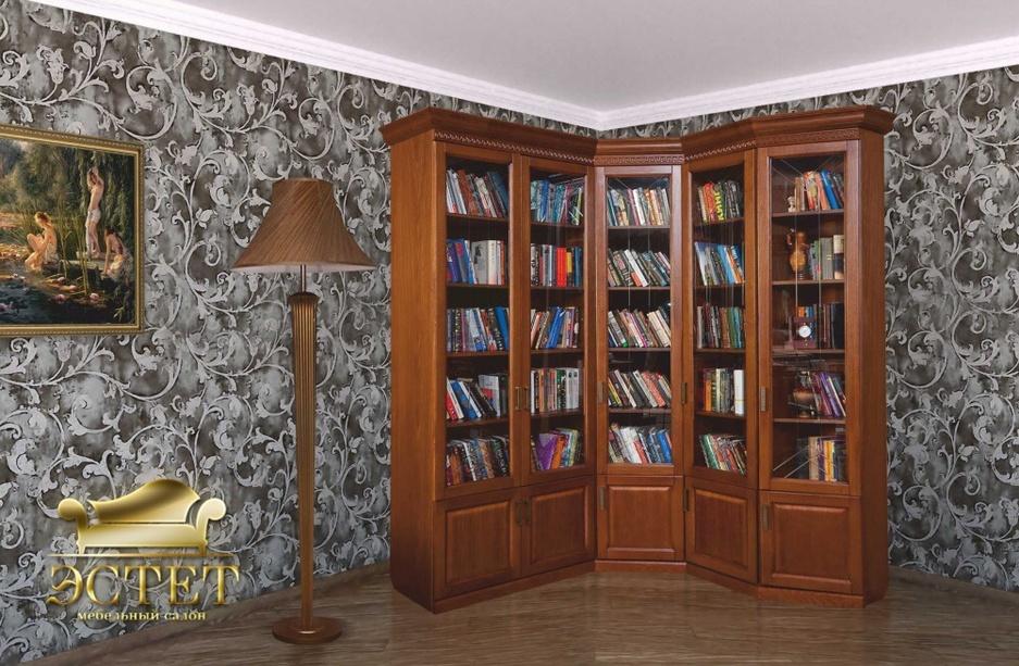 """Библиотека (модульная) """"олимпия"""" (давиль - мебельный салон """"."""